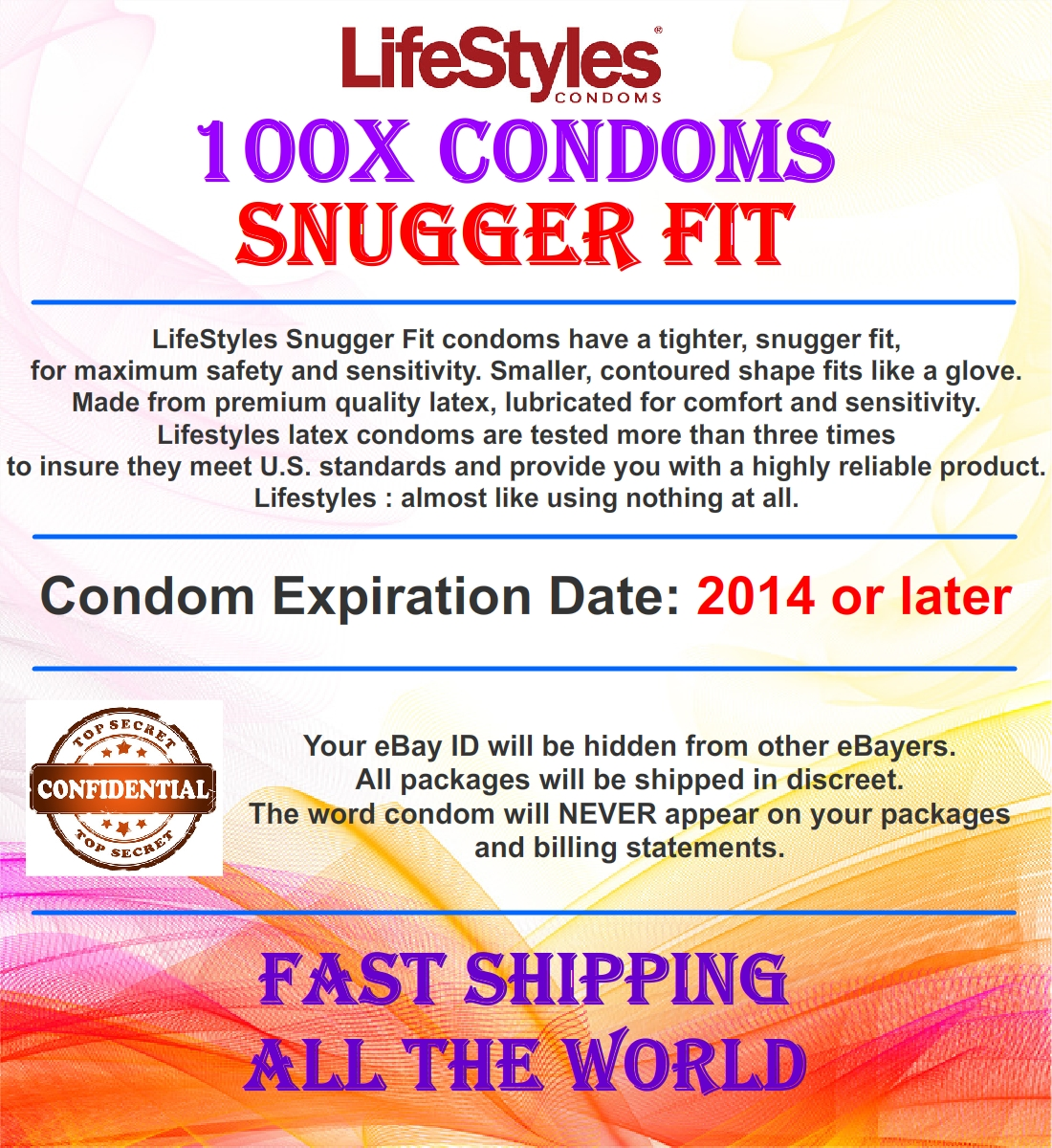 Snugger fit small size condoms from durex crown iron grip 12 pac